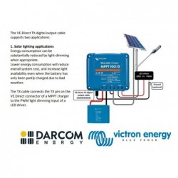 Victron Energy BlueSolar PWM-Pro to USB interface cable