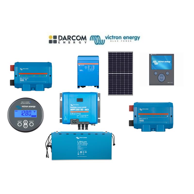 Sistem fotovoltaic Victron Energy...